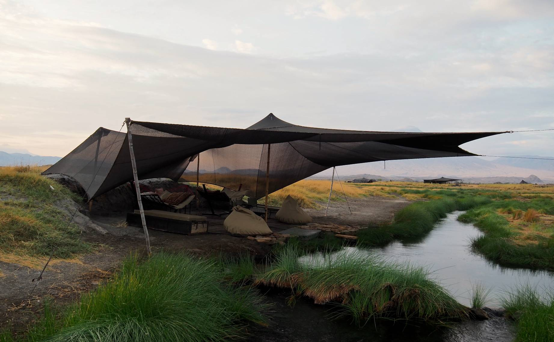 Summit Lake Natron Camp